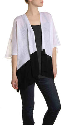 Kelly & Katie Colorblock Tie Kimono - Women's