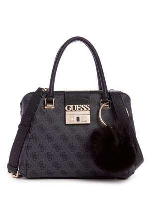 At Canada Guess Logo Luxe Small Society Satchel