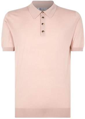 Johnstons of Elgin Cashmere Polo Shirt