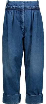 J.W.Anderson Pleated Wide-Leg Jeans