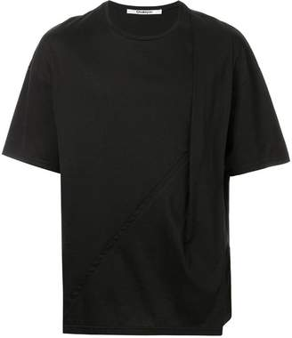 Chalayan T-shirt with drapy strap