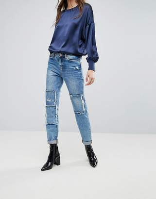 Noisy May Kim Loose Boyfriend Jeans