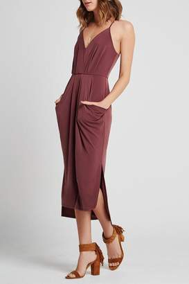 BCBGeneration Pocket V-Front Dress