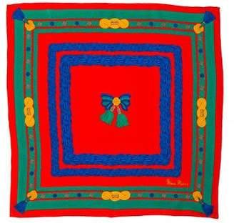 Hermes Qu' Importe Le Flacon Silk Pocket Square
