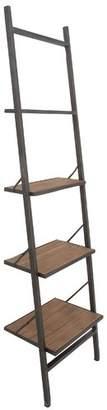 Williston Forge Hoadley Industrial Ladder Bookcase
