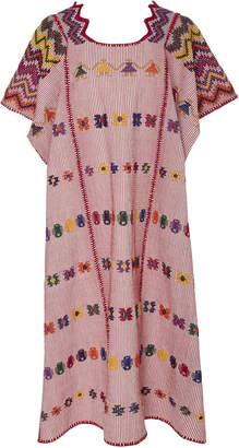 Pippa Holt Pink Cotton Midi Caftan