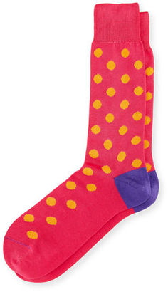 Paul Smith BRIGHT SPOT SOCK $30 thestylecure.com