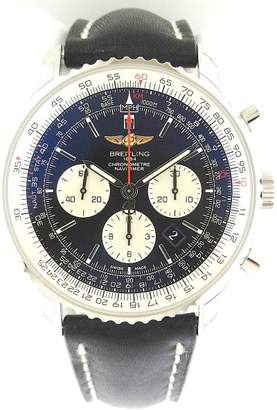 Breitling Navitimer 01 Chrono ab012721/bd09-1ld Stainless Steel Black Dial 46mm Watch $7,965 thestylecure.com