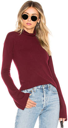 Theory Bell Sleeve Mockneck Sweater