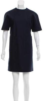 Balenciaga Short Sleeve Mini Dress