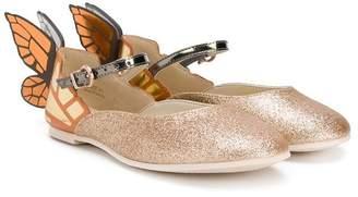 Sophia Webster Mini glitter ballerinas
