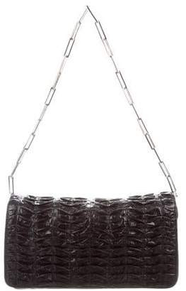 Devi Kroell Ruched Leather Bag