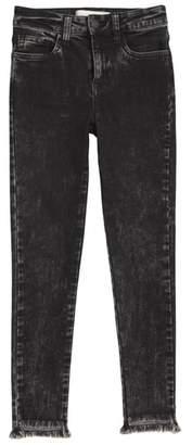 Treasure & Bond Frayed Step Hem Jeans