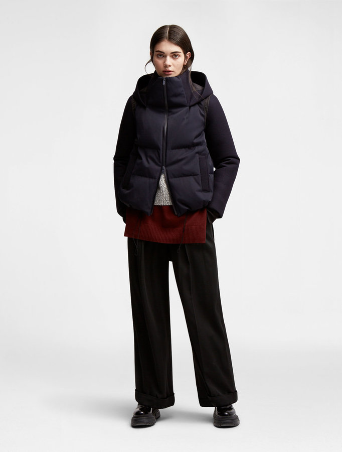 DKNY Dkny Pure Mixed Media Puffer