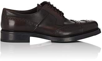 Prada Men's Leather Wingtip Bluchers