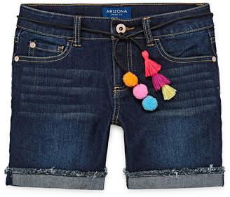 Arizona Belted Midi Shorts Girls 4-16 and Plus