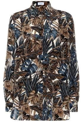 Salvatore Ferragamo Printed silk chiffon blouse