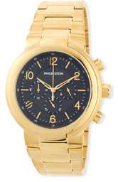 Philip Stein Teslar 44mm Chronograph Bracelet Watch, Gold