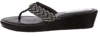 Eric Javits Woven Thong Sandals