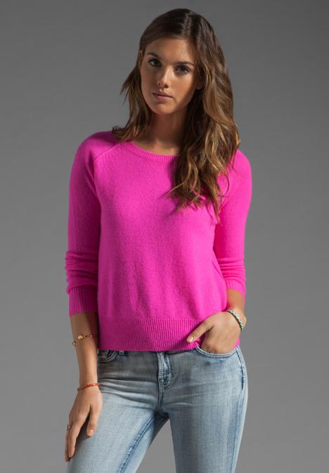 360 Sweater Charlie Nautical Neon Cashmere Sweater