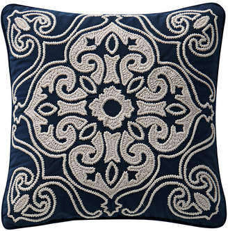 "Waterford Asher 16"" X 16"" Square Collection Decorative Pillow"