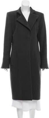 Saint Laurent Wool & Cashmere Coat