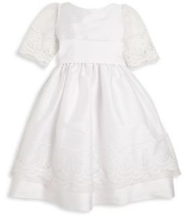Isabel Garreton Toddler's & Little Girl's Special Occasion Embroidered Tulle Dress $206 thestylecure.com