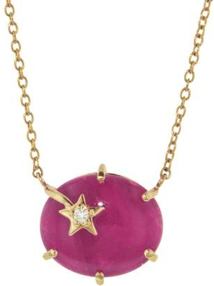 Andrea Fohrman Ruby Galaxy Star Necklace