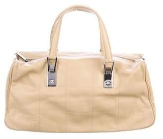 Chanel Square Quilt Bowler Bag