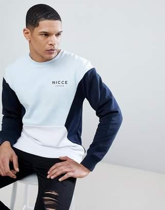 Nicce London retro sweatshirt
