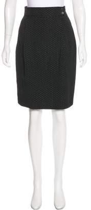 Paul & Joe Patterned Pencil Skirt
