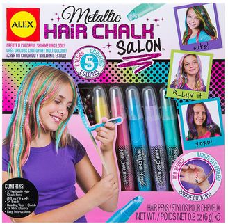 ALEX Metallic Hair Chalk Salon $21.99 thestylecure.com
