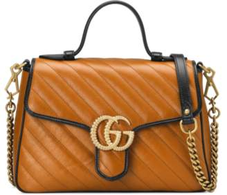 363d81df049d44 Gucci GG Marmont small top handle bag