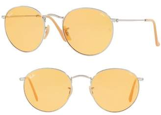 Ray-Ban 53mm Evolve Photochromic Round Sunglasses