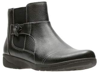Clarks Cheyn Work Leather Ankle Bootie - Wide Width Available