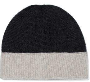 Rag & Bone Two-Tone Brushed Knitted Beanie