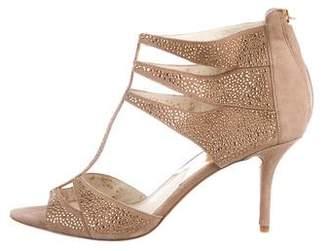 MICHAEL Michael Kors Suede Studded Sandals