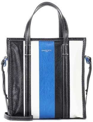 Balenciaga Bazar S leather shopper