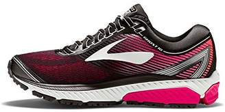 Brooks Women's Ghost 10 D Running Shoe (BRK-120246 1D 3887280 9.5 067 BLACK/PINK/CORAL)