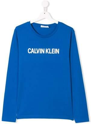 Calvin Klein (カルバン クライン) - Calvin Klein Kids ロゴ Tシャツ