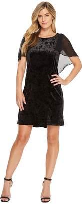 B Collection by Bobeau Pery Velvet Cape Dress Women's Dress