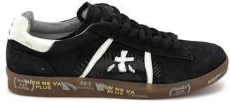 Premiata Andy Sneaker In Black Suede Upper.