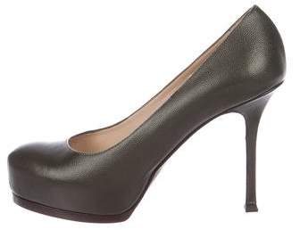 Yves Saint Laurent Tribute Two Platform Pumps