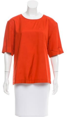 Marc by Marc Jacobs Silk Short Sleeve Top w/ Tags