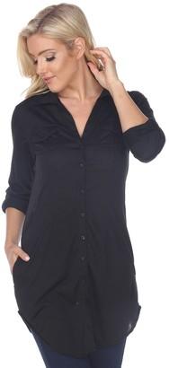 2d1c75344a9 Women's Button Down Tunic - ShopStyle