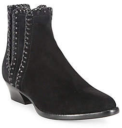 Michael Kors Women's Presley Whipstitched Suede Booties