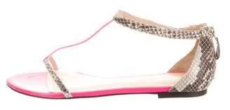 Just Cavalli Snake Flatt Sandals w/ Tags
