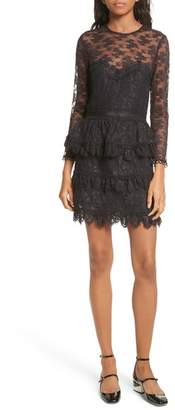 The Kooples Floral Lace Dress