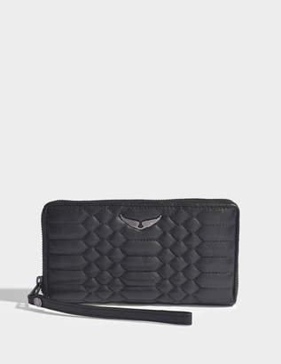Zadig & Voltaire Compagnon zipped wallet