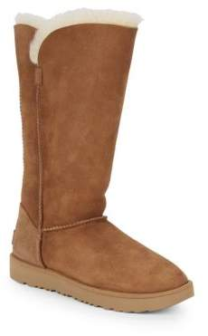 UGG Shearling Lined Suede Boots